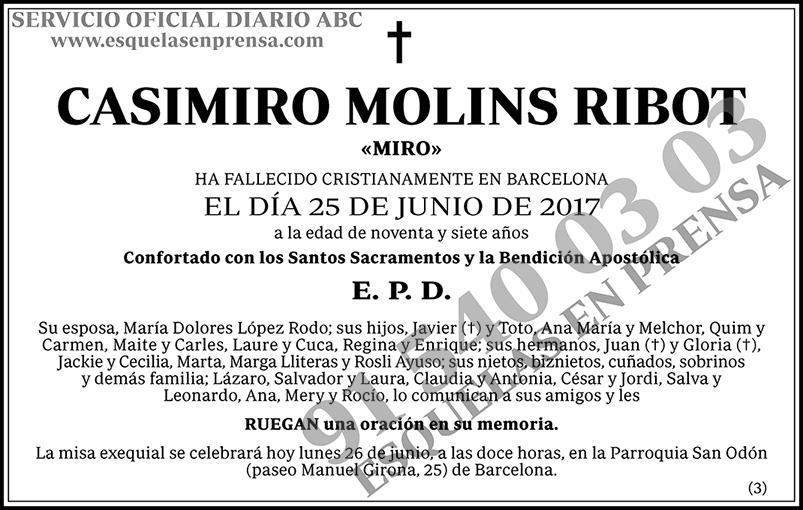 Casimiro Molins Ribot